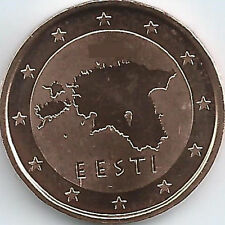 Estonia 2 Cent Currency coin (2011 - 2016), uncirculated/brilliant uncirculated