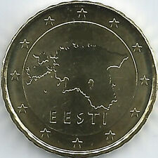 Estonia 10 Cent Currency coin (2011 - 2016), uncirculated/brilliant uncirculated