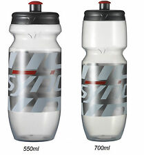 Borraccia Syncros Corporate 2.0 Clear/Neon Red/WATER BOTTLE SYNCROS CORPORATE
