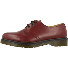 Dr Doc Martens 1461 PW Leder Schuhe 3-Loch Boots cherry red smooth 10078602