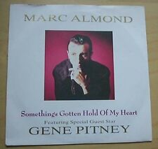 "MARC ALMOND SOMETHINGS GOTTEN HOLD OF MY HEART 7"" P/S WITH GENE PITNEY UK"