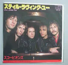 "SCORPIONS STILL LOVING YOU 7"" P/S JAPANESE"