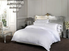 Dorchester Collection Oxford Style 1000 Thread White Fitted Sheets
