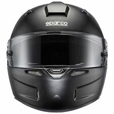 Sparco Car Racing/Race/Track Air Pro RF-5w Fibreglass Crash Helmet - Matt Black