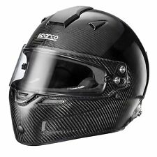 Sparco Car Racing/Race/Track Sky RF-7W Carbon Fibre Shell Crash Helmet/Lid