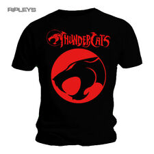 Official T Shirt THUNDERCATS Marvel Black Red LOGO Classic All Sizes