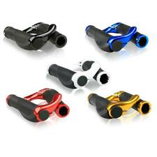 Mountain Bike Handle Bar Grips Double Lock On MTB BMX Bicycle + Ends
