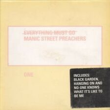 MANIC STREET PREACHERS Everything Must Go CD 4 Track Part 1 Yellow Card Sleeve