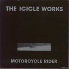 """ICICLE WORKS Motorcycle Rider 7"""" VINYL B/W Turn Any Corner (Works100) Pic"""