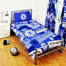 Chelsea FC Childrens/Kids Official Patch Football Crest Duvet Set