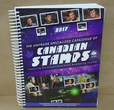 2017 Unitrade Specialized Catalogue of Canadian Stamps Canada Stamp Price Guide