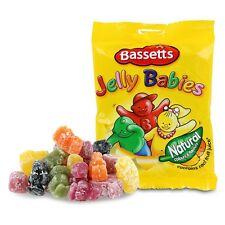 MAYNARDS BASSETTS JELLY BABIES 165G SWEETS CHILDREN'S BAG WHOLESALE DISCOUNT