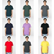 American Apparel Mens/Womens Short Sleeve Crew Neck Plain T-Shirt/Tee