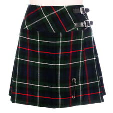 New Ladies MacKenzie Tartan Scottish Mini Billie Kilt Mod Skirt Sizes 6-22UK