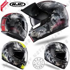 CASCO INTEGRALE HJC MOTO SCOOTER FULL FACE FG-ST VOID VARIE TAGLIE E COLORI