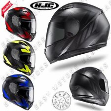 CASCO HELME. INTEGRALE MOTO HJC FULL FACE CS-15 TREAGUE VARI COLORI VARIE TAGLIE