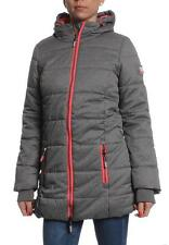 Superdry Mantel Women TALL SPORTS PUFFER Grey Marl