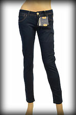 Jaggy Donna Damen Jeans MADE IN ITALY, slim fit, Pantaloni, Trousers 38-46 (SP)