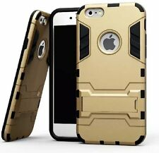 "Hybrid Flip Kick Stand Hard Armor Back Case Cover for Apple iPhone 6 / 6S (4.7"")"