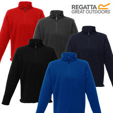 Regatta Jacket Mens Fleece Micro Half Zip Neck New Embroidered Logo New