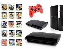 Playstation 3 Konsole 12-500 GB FAT/SLIM/SUPERSLIM mit rotem Controller
