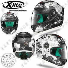 CASCO INTEGRALE FULL FACE X-LITE X-802RR REPLICA 37 C.CHECA FLAT BLACK OPACO