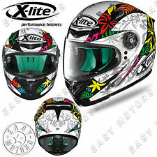 CASCO INTEGRALE FULL FACE X-LITE X-802RR REPLICA 107 D.PETRUCCI WHITE BIANCO