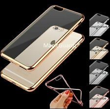 For Apple iPhone 7 / 7 Plus Case Silicone Clear Cover Bumper Rubber Shockproof