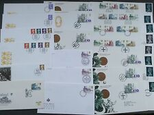 HIGH VALUE DEFINITIVE FDCS 1969 1970 1972 1977 FDC MULTIPLE LISTING - buy 5+ P&P