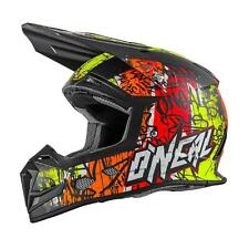O'Neal 5Series MX Helm Vandal Orange Neon Gelb Motocross Enduro Cross Quad ABS