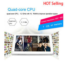 9 inch HD Camera 3G Quad Core Tablet PC Android 4.4 1Gb+8GB WIFI Bluetooth LOT