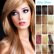 New Clip In 100% Human Remy Hair Extensions 7pcs/set  Full Head 14inch-30inch