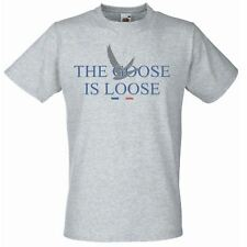 Mens Grey The Goose Is Loose T-Shirt Unisex French Vodka TShirt X-Mas Gift Idea