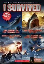 I Survived Collection: Books 1-4 by Lauren Tarshis (English) Paperback Book