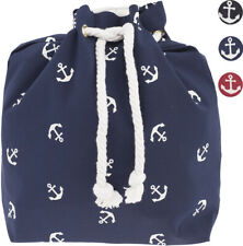 Lovely ANCHOR Anker Sailor Retro Turnbeutel RUCKSACK Gymsack Rockabilly