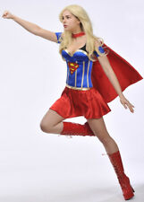 Ladies Sexy Corset Supergirl Costume