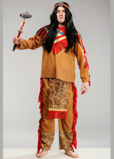 Adult Sitting Bull Indian Chief Costume
