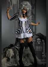 Ladies Deluxe Sexy Beetlejuice Costume