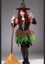 Kids Halloween Fairy Witch Costume