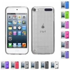 For Apple iPod Touch 5th 6th Gen TPU Rubber Skin Flexible Case Phone Cover