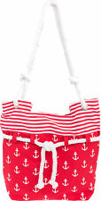 Küstenluder ALENA Sailor ANCHOR Anker Nautical Canvas SHOPPER Bag Rockabilly