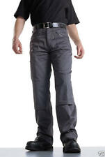2 X Dickies Action Work Trousers Redhawk Grey WD814