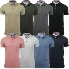 Mens Polo T-Shirt by Brave Soul 'Julius' Short Sleeved