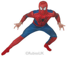 Deluxe Amazing Spiderman 2 Mens Fancy Dress Superhero Adults Costume Outfit New