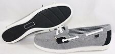 NEW Womens SPERRY Shore Sider Black Casual Canvas Boat Top-Sider Shoes