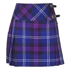 Scottish Tartan Wear Skirt Highland Ladies Heritage of Scotland Wool Kilt