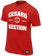 WWE CESARO Cesaro Section OFFICIAL AUTHENTIC T-SHIRT