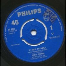 "HARRY SECOMBE If I Ruled The World 7"" VINYL UK Philips 1963 B/W Look Into Your"
