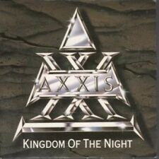 """AXXIS Kingdom Of The Night 7"""" VINYL UK Parlophone 1989 B/W Young Souls (R6225)"""