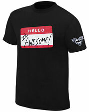 WWE THE MIZ Hello I'm Awesome Be Miz OFFICIAL RETRO T-SHIRT